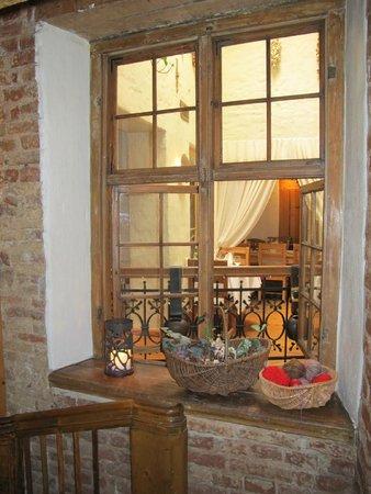 1221: Dekoration im Treppenhaus