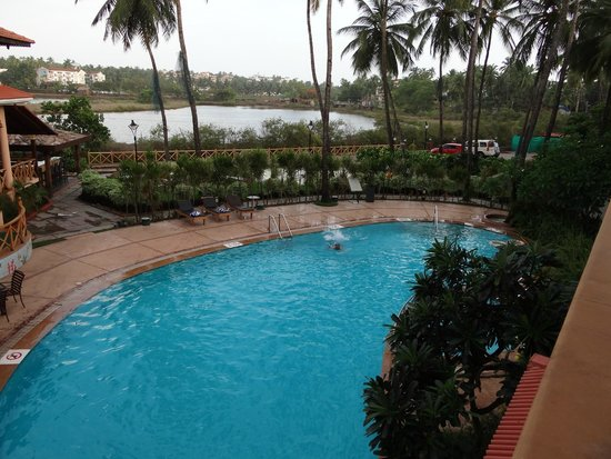 Lazylagoon Sarovar Portico Suites: View from room