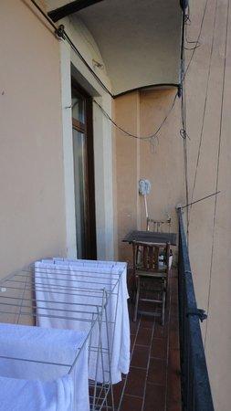 Happy Apartments: Terrasse