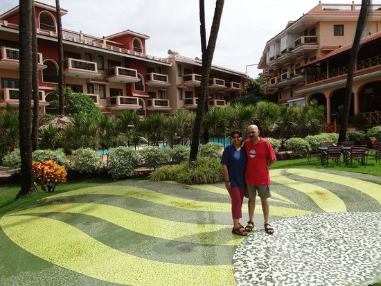 Lazylagoon Sarovar Portico Suites: Hotel grounds
