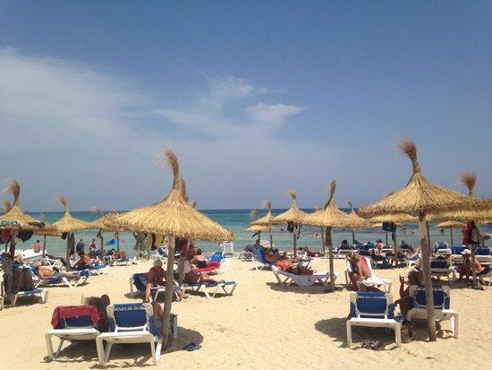 Playa Blanca Hotel: Sa coma beach