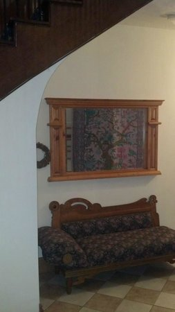 Main Street Manor: Settee on the first floor just to sit and read