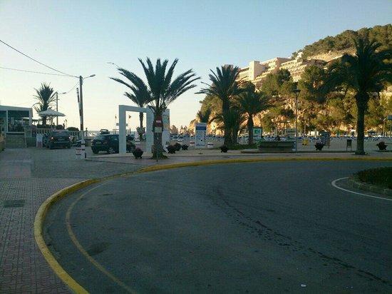 Playa Puerto de San Miguel: Port San Miquel @ dusk 🌅🌅🌅