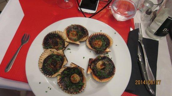 Chez Regi: St Jaques / Scallops