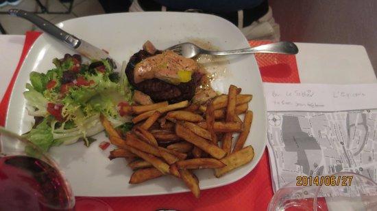 Chez Regi: Tenderloin and foie gras