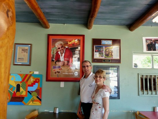 Sophia's Place: Photo of Guy F from Diners, Drive Ins & Dives