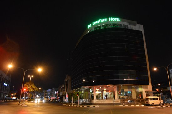 The LimeTree Hotel: The LimeTree at night
