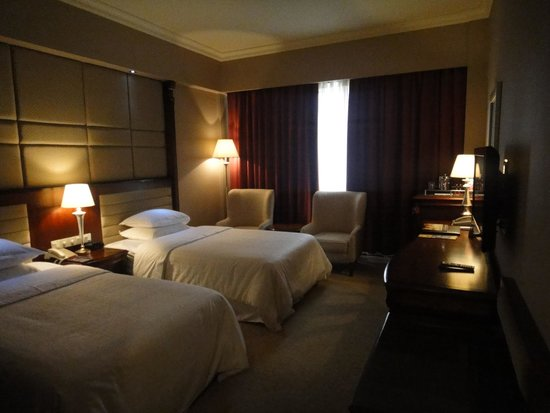 Sheraton Guilin Hotel : Meu quarto single no Sheraton de Guilin