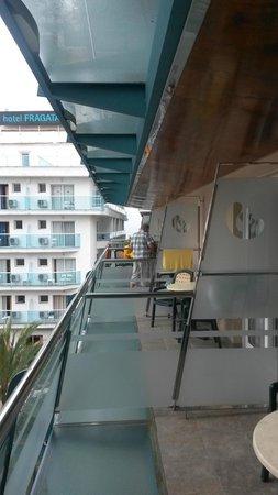 Hotel Kaktus Playa : Вид из номера