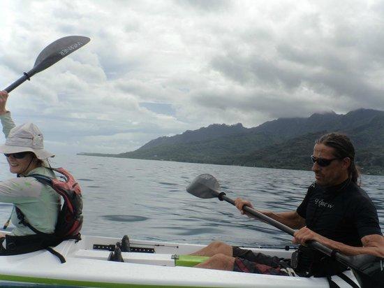 Kayak Nomad Polynesia : Avec eux, au bout du monde