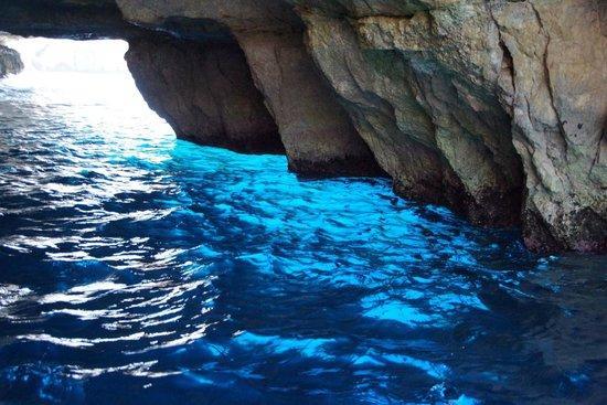 Blue Grotto (Il-Hnejja) : Blue Grotto lazur