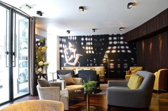 la villa saint germain : Salon/Bar