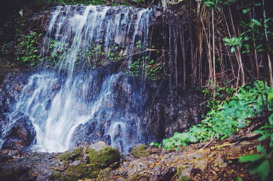 Outfitters Kauai: The gorgeous waterfall you zipline past