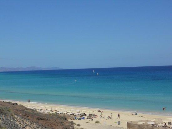 Fuerteventura Princess: Beach veiw from access gate