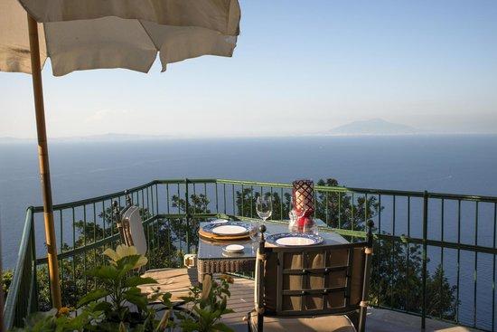Our View On The Vesuvio Picture Of Restaurant La Terrazza