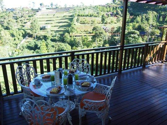 Kastuba Resort: Our breakfast