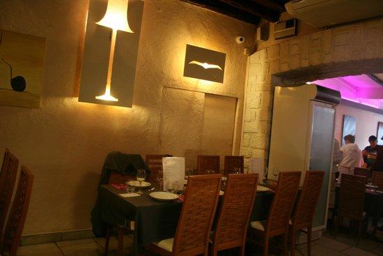 L'albatros : le restaurant - la salle du fond