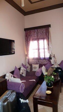 Riad Al Madina: notre salon ...