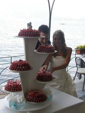 Ristorante Belvedere : taglio della torta
