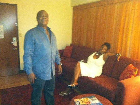 Hotel Indigo Chicago - Vernon Hills: Sofa bed