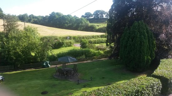 Higher Wych, UK: the view from our twin bed room at front of property
