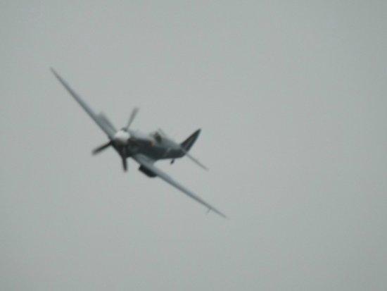 East Midlands Aeropark: A Spitfire Flypast