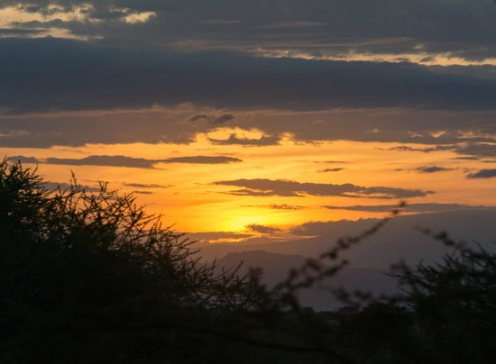 Manyara Ranch Conservancy: Sunset at the Ranch