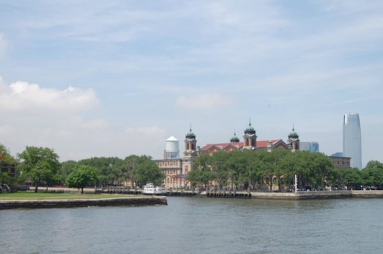 Statue Cruises: Ellis Island from the ferry