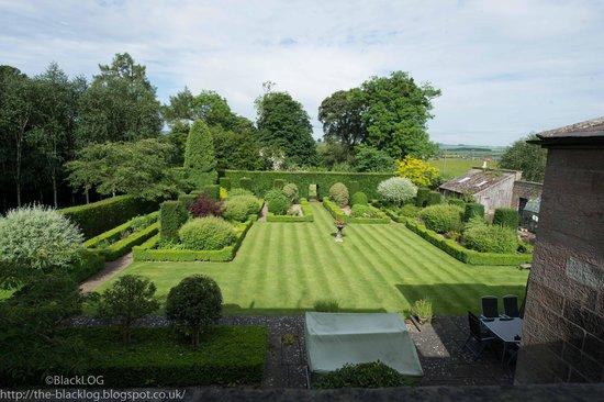 Chatton Park House garden