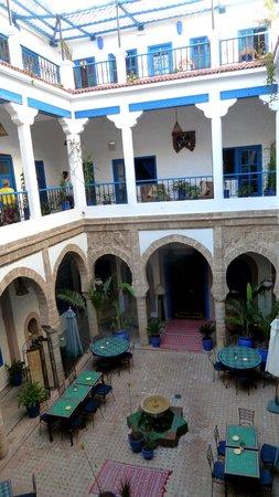 Riad Al Madina: le patio