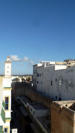 Riad Al Madina: vue de la terrasse