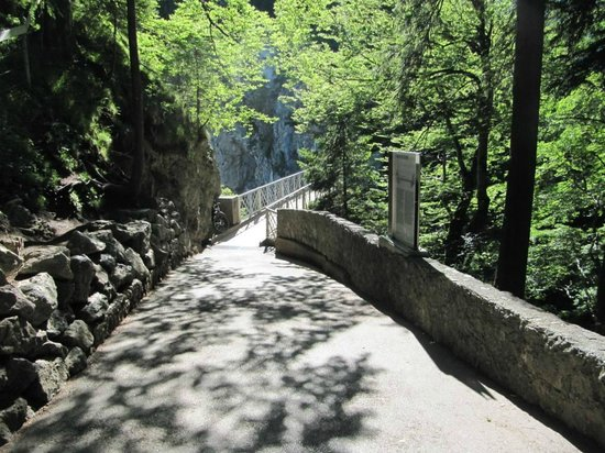 Marienbrücke: Estrada da ponte