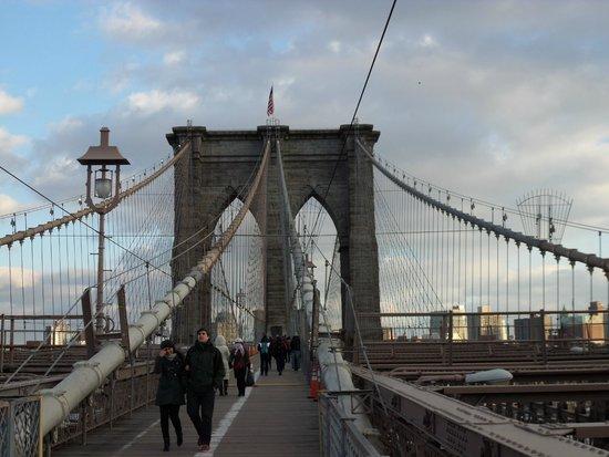 Puente de Brooklyn: Amazing views