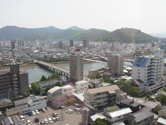 Hotel Nikko Kochi Asahi Royal : 部屋からの眺望