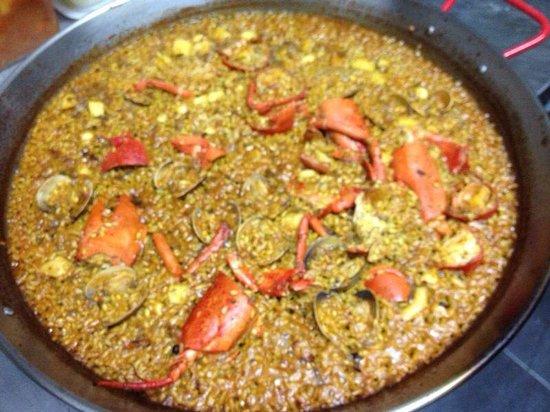 Restaurante A + D: Paella