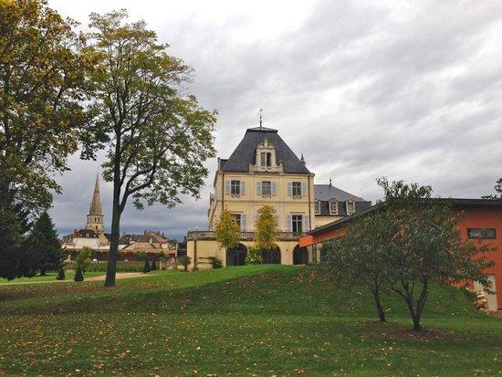 Chateau de Citeaux La Cueillette: Hotel et Jardin, Vue extérieur