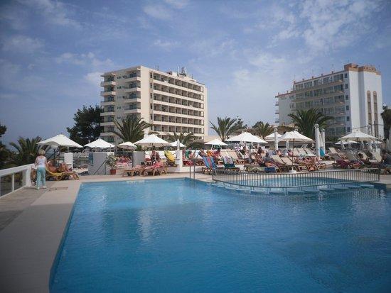 Bellamar Hotel: Pool view.