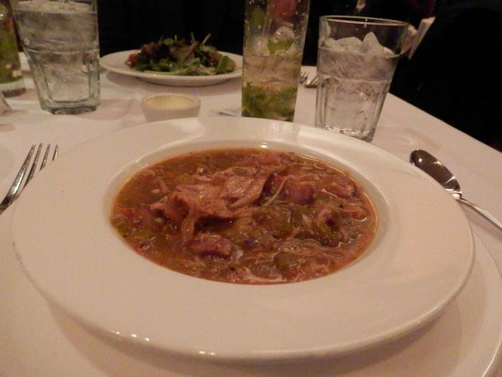 Nola Restaurant: Gumbo (spicy & good)