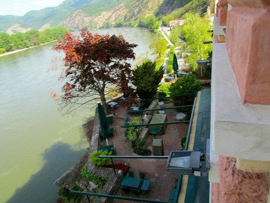 Hotel Schloss Dürnstein: From our room....