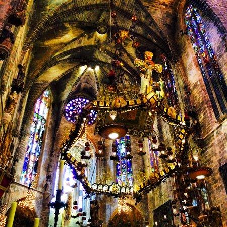 Catedral de Mallorca : Inside church