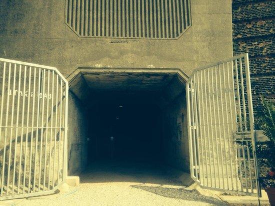 Ramsgate Tunnels: Entrance
