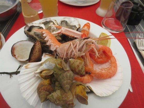 Brasserie de la mer : My starter...