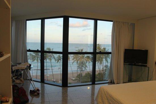 Hotel Brisa Tower: Apartamento 7andar frente ao mar