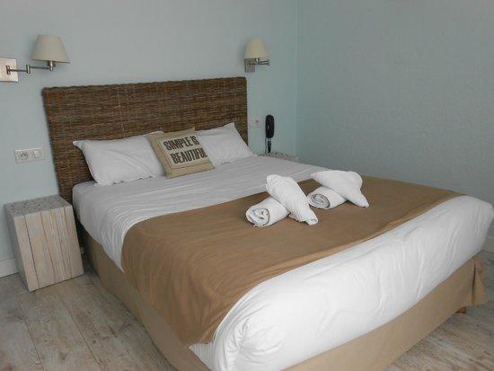 Hôtel de Vert Bois : notre chambre
