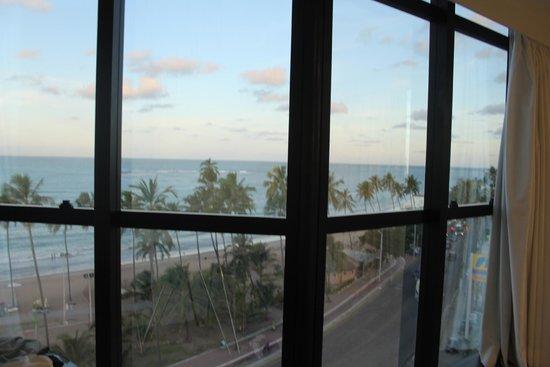 Hotel Brisa Tower: Vista do apartamento 7andar frente ao mar