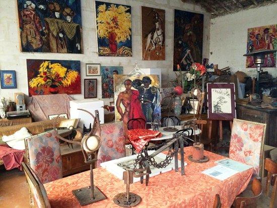 Mas Saint Bertrand : museo