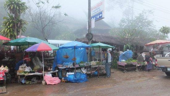 Doi Mae Salong : Marketplace in Mae Salong
