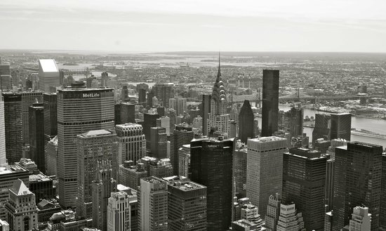 Best Western Premier Herald Square: View from Empire State Building