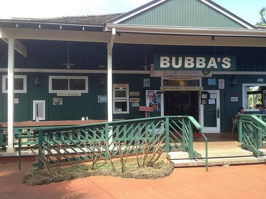 Bubba Burgers: Bubba's with outdoor seating ..