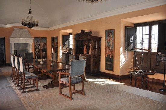 Casa del Moral: Comedor de la casa colonial